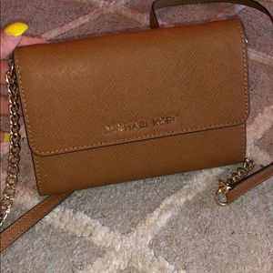 Micheal Kors over the shoulder wallet/small purse